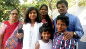 Muthu and family